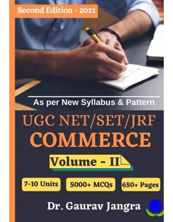 UGC/NET/SET/JFR COMMERCE (IN 2 VOLUMES)