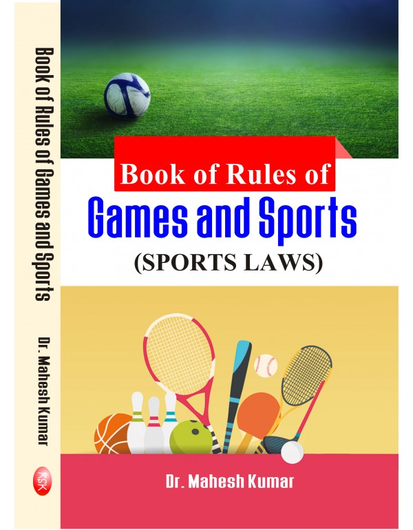 book of rules of games and sports (paperback)