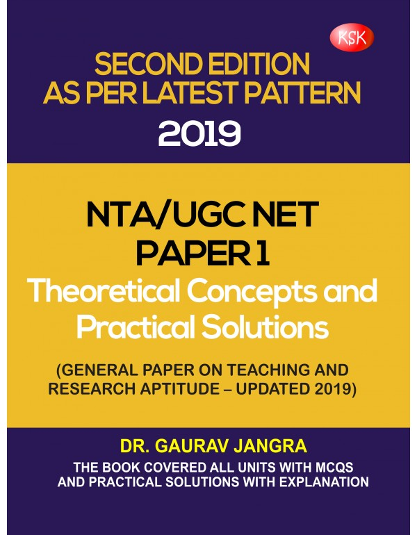 NTA/UGC net paper -I